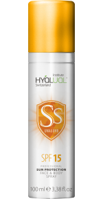 Спрей Hyalual Safe Sun SPF 15